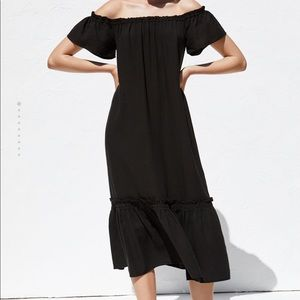 Zara Bardot dress